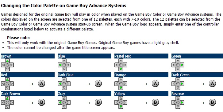 RetroRGB - Game Boy Versions