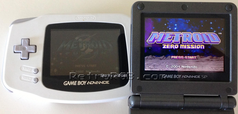 Game Boy Versions Retrorgb