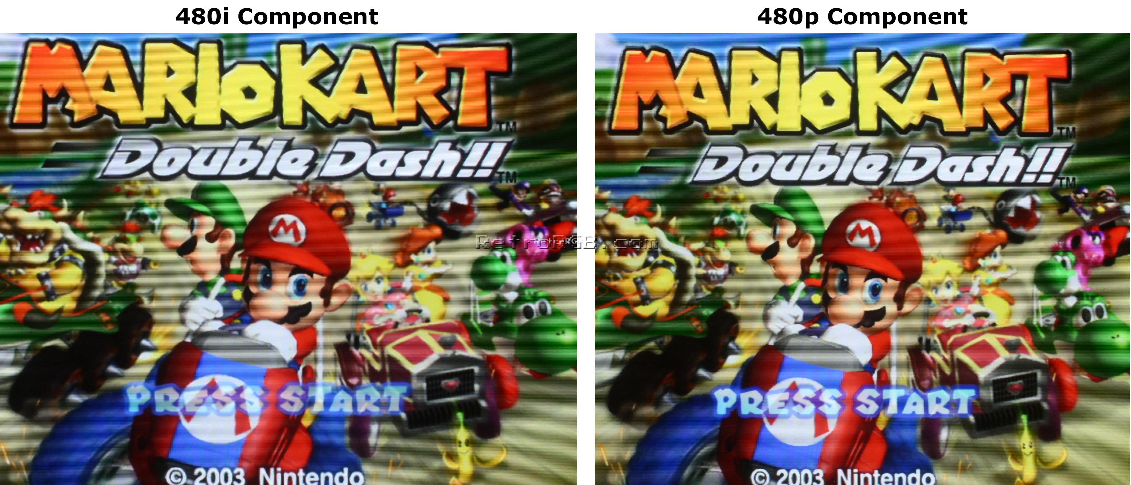 GameCube Output Comparison | RetroRGB