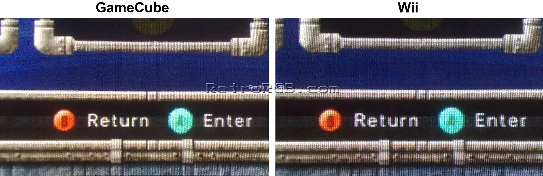 Gamecube Vs Wii Retrorgb