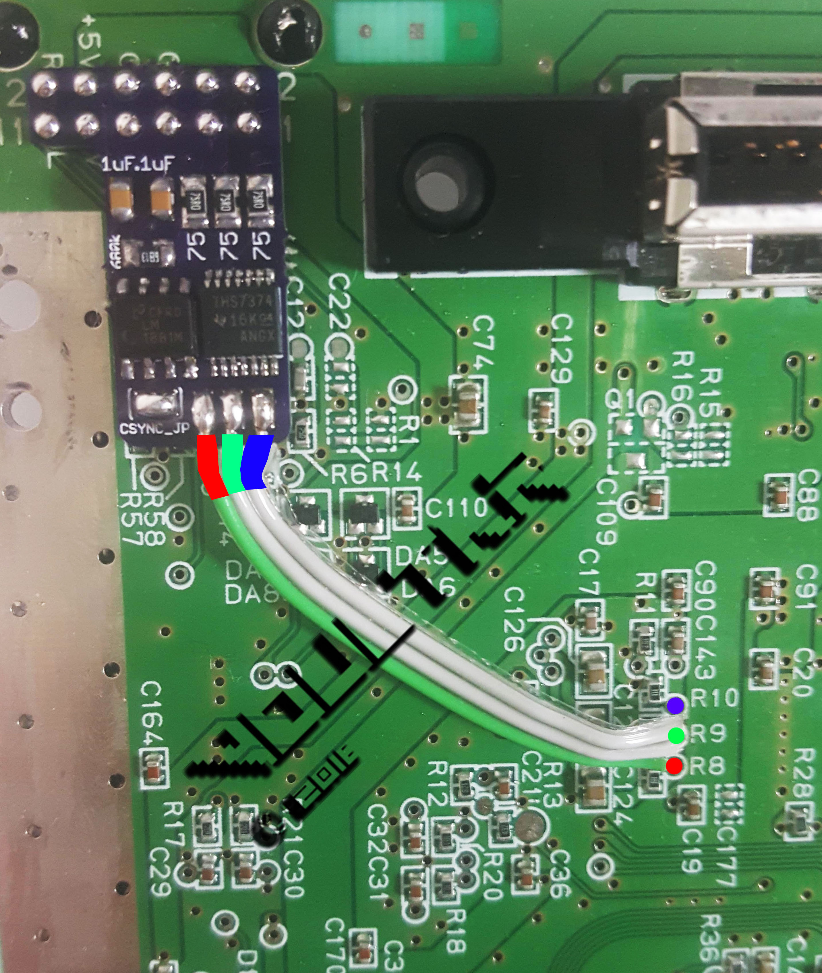 N64 RGB Mod | RetroRGB Nintendo Wiring Diagram on