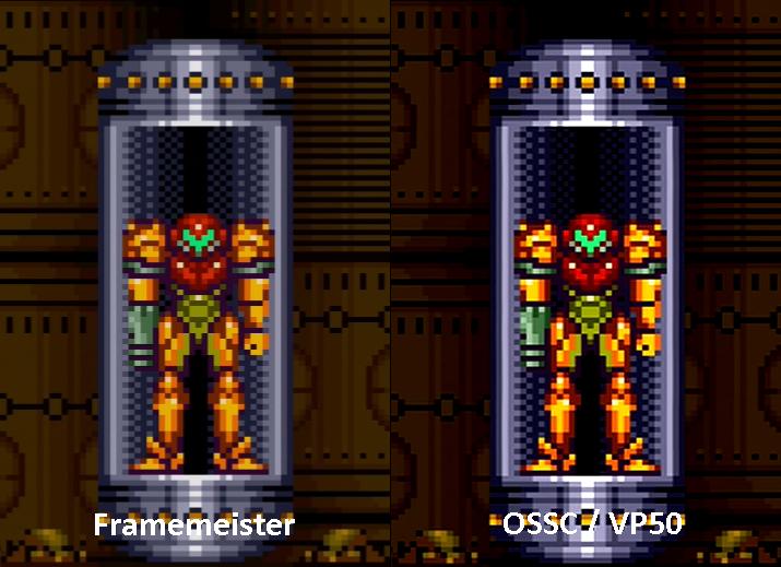 framemeister xrgb-mini up scaler gaming 720p vs 1080p