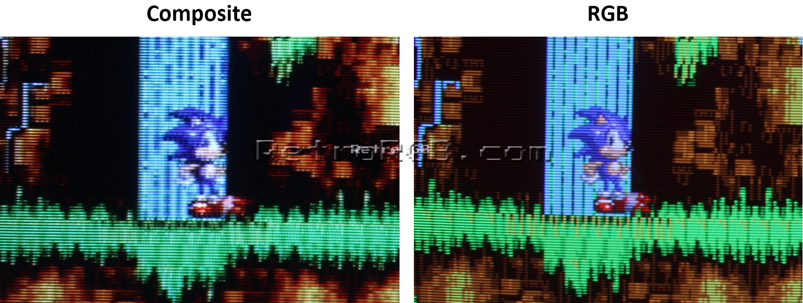Scart Confused Sync Signal Resolved W Extended