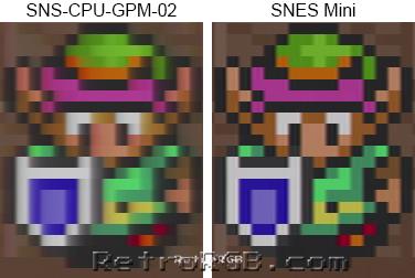 mini versie super nitendo