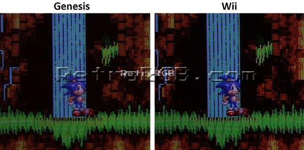 RetroRGB - Wii Virtual Console Games vs  the Originals