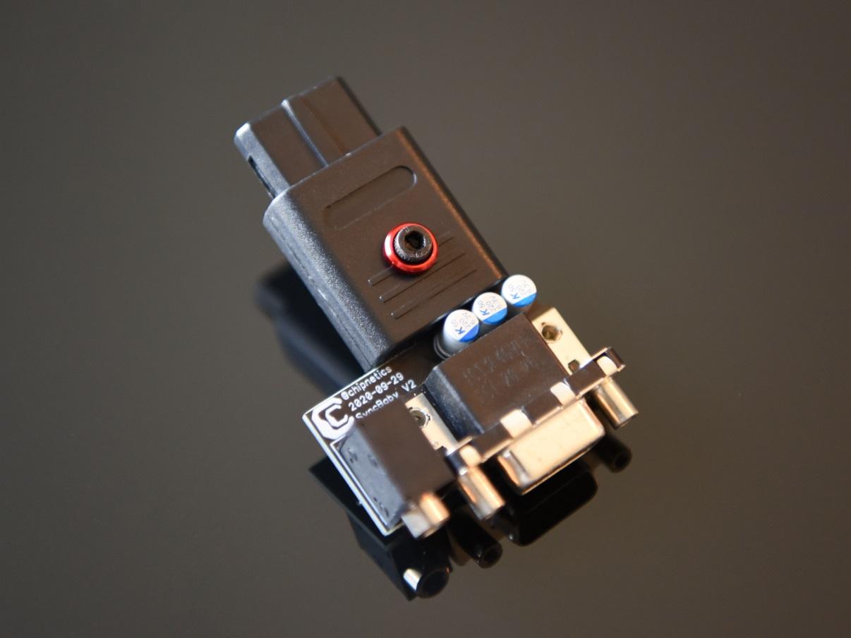 SyncBaby SNES DSUB adapter