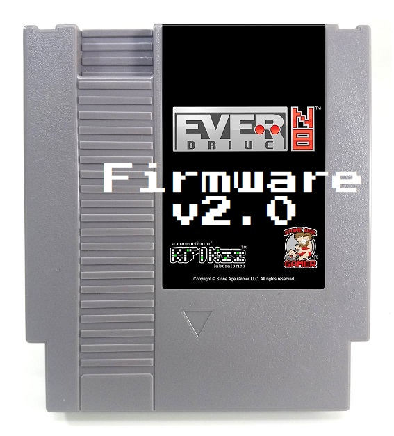 how to update firmware software everdrive krikzz