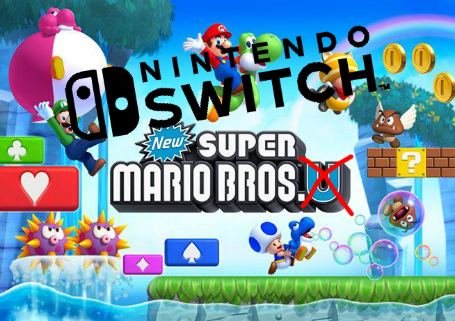 "Super Mario Bros. U ""Deluxe"" Coming To Switch in January"