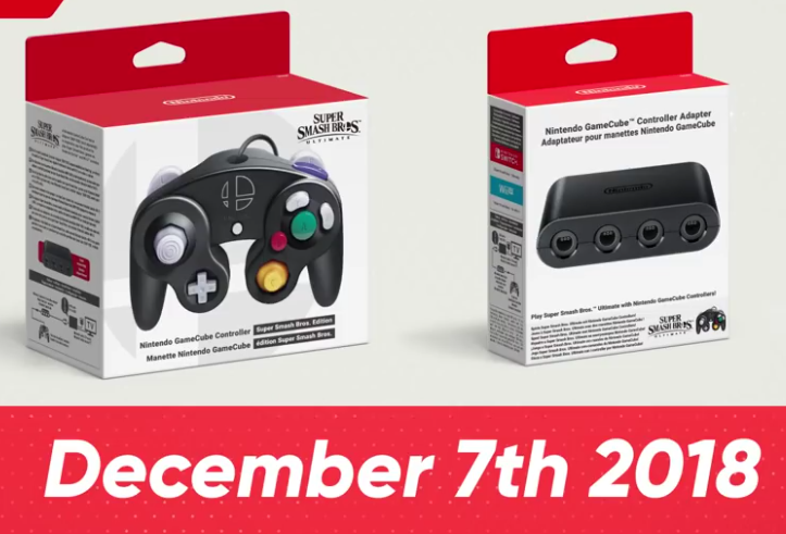 New GameCube controllers and Multitap coming for Switch