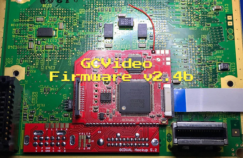 GCVideo v2.4b Firmware Updated to Address Chroma Bug