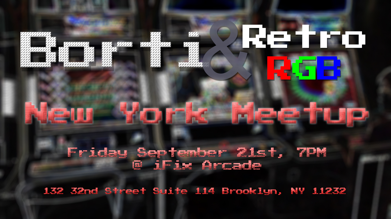 Meetup with Borti at iFixArcade