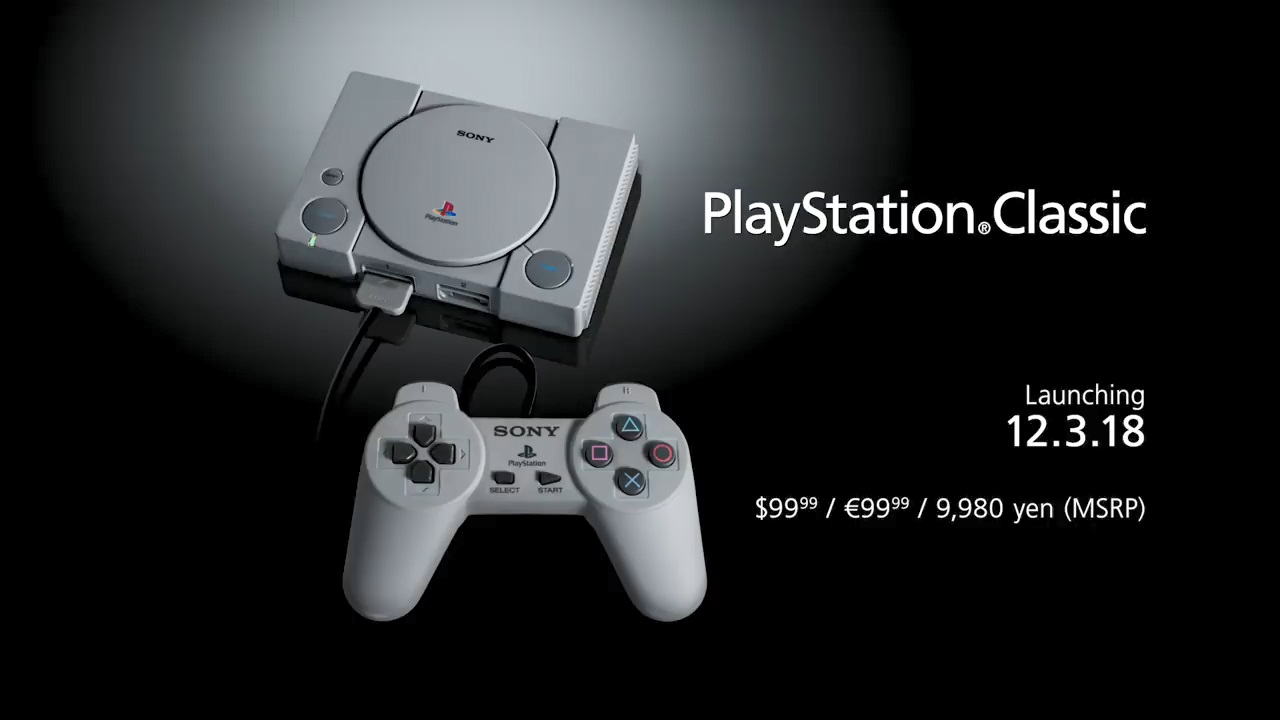 Sony Confirms PlayStation Classic Game Lineup