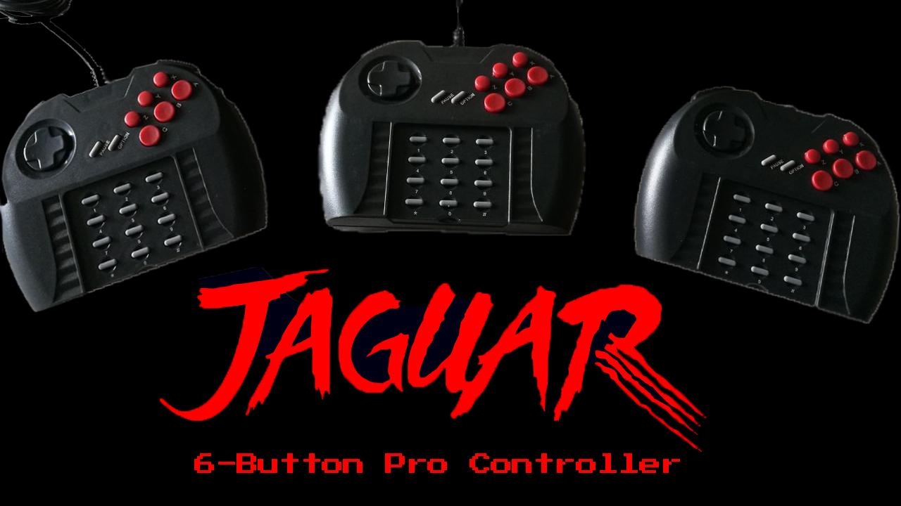 Atari Jaguar Pro Controllers – New Production Update