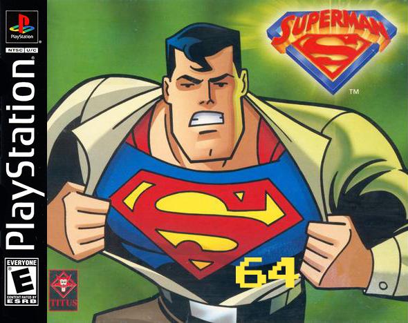 Superman 64 PS1 Prototype Found