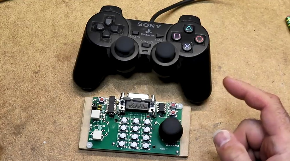 PS2 Controller Adapter Prototype for Atari 5200
