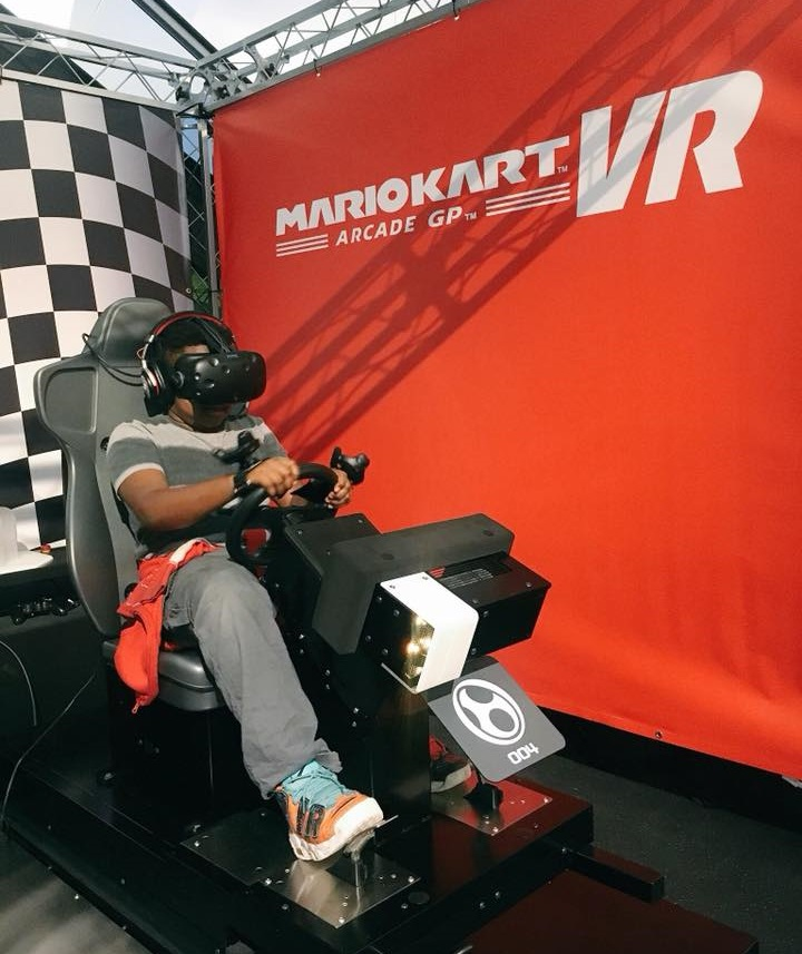 Mario Kart VR Now in the US