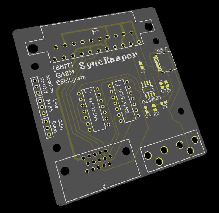SyncReaper: Sync Stripper + Scanline Generator Announced