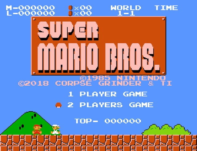Simultaneous 2-Player NES Super Mario Bros