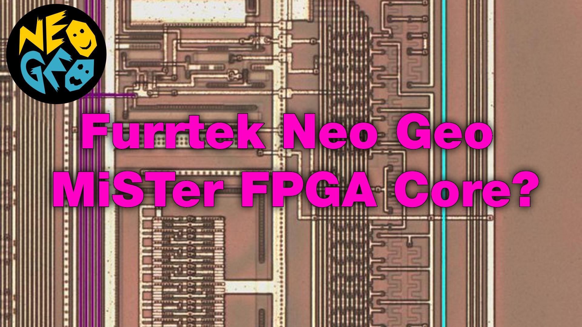 Furrtek's Neo Geo MiSTer Core