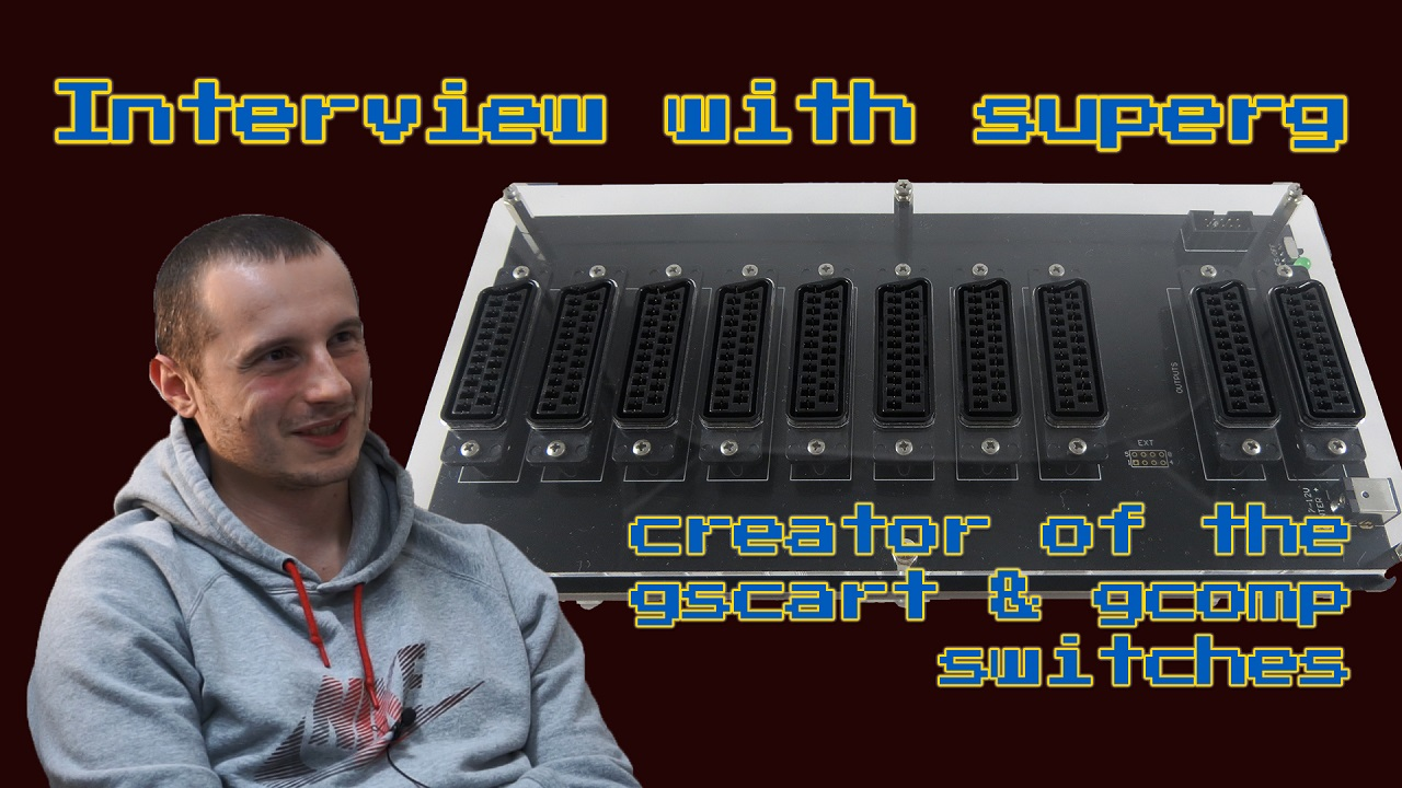 Interview with gscart/gcomp switch creator superg