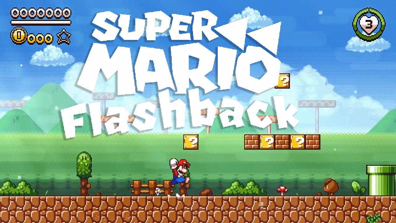Fan-Made Super Mario Flashback