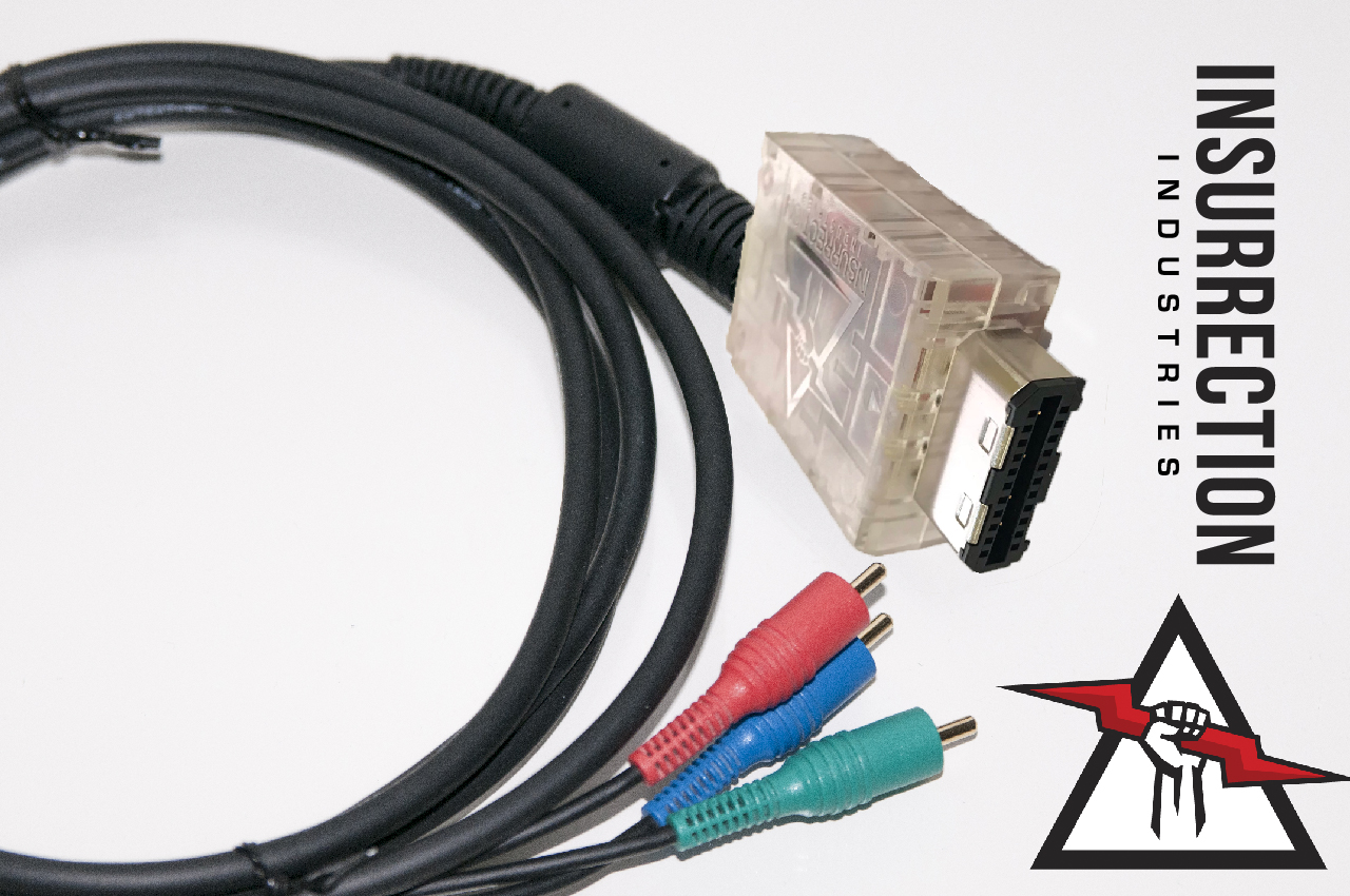 Insurrection Industries Announces sub-$100 GameCube Component Cable