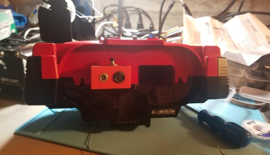 VirtualBoy No-Cut Video Port Mounts for the VirtualTap