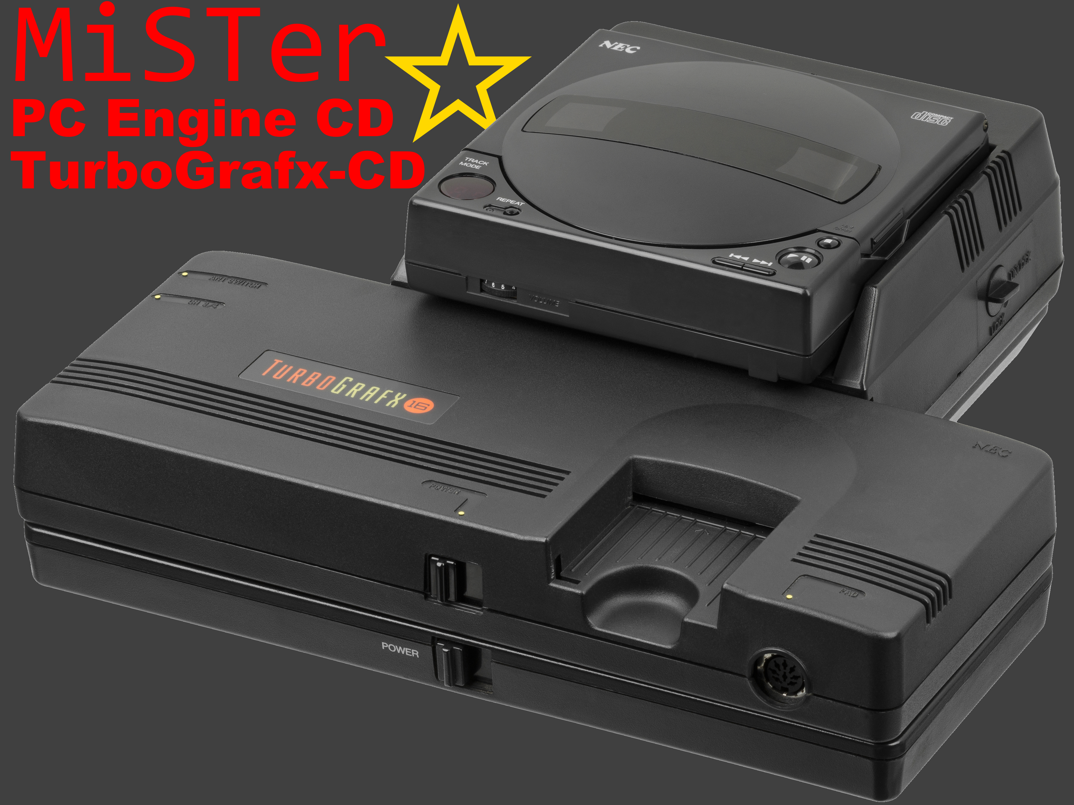 MiSTer PC Engine CD & TurboGrafx-CD Begins