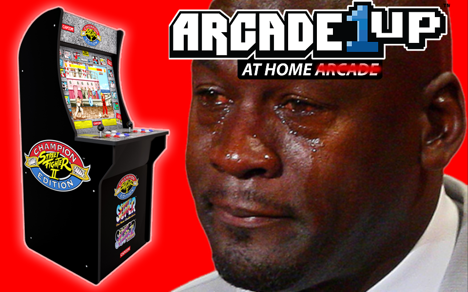 Arcade1up Street Fighter Cab Emulation Issues