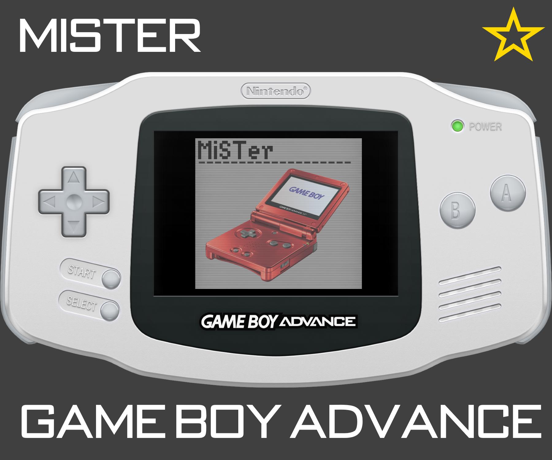 MiSTer: Game Boy Advance FPGA Core