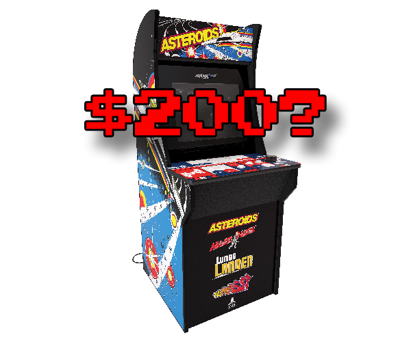 Is $200 low enough for Arcade1UP's Tempest?