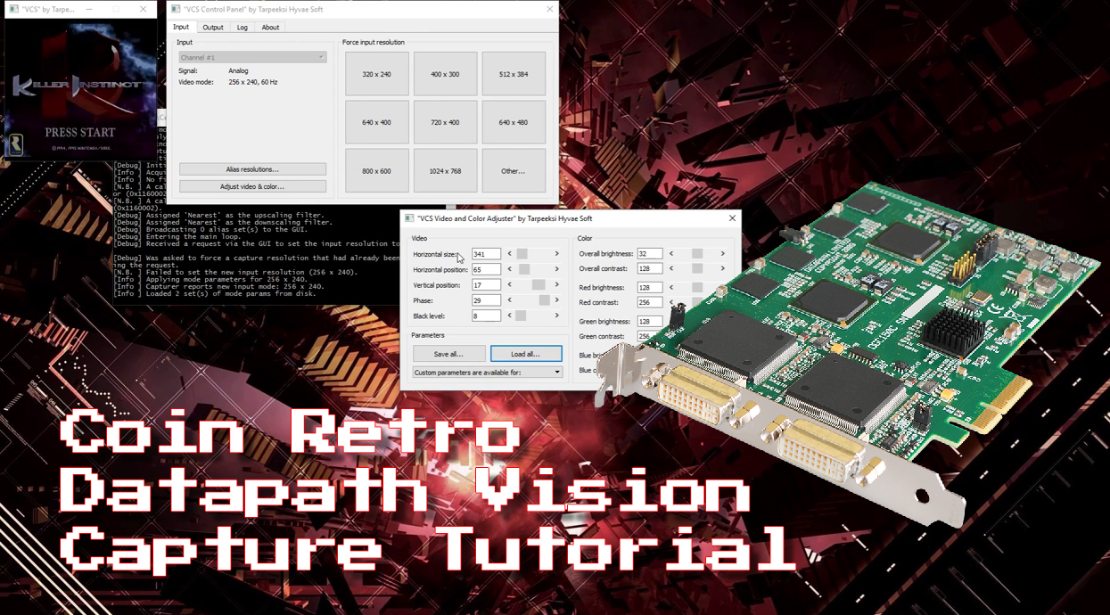 Coin Retro's Datapath Vision Tutorial