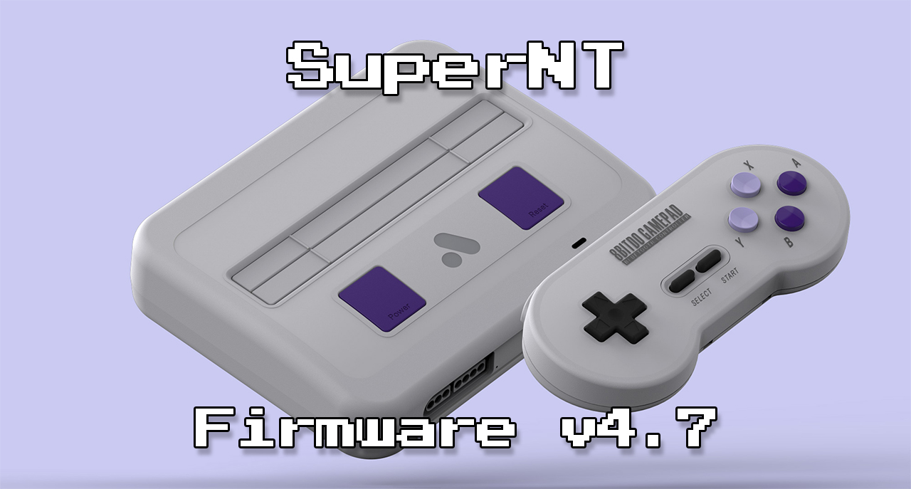 SuperNT Firmware Update