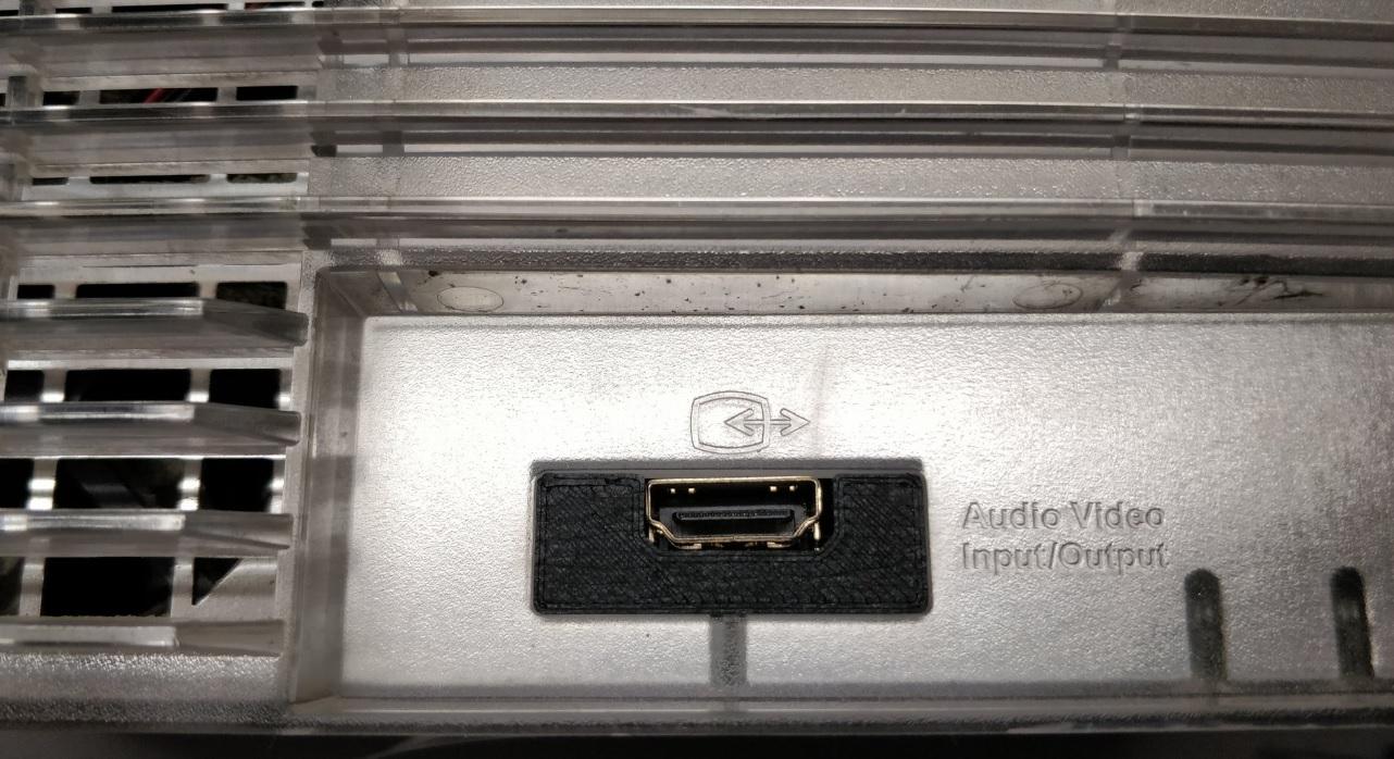 Internal Analog to Digital HDMI solution for the OG Xbox