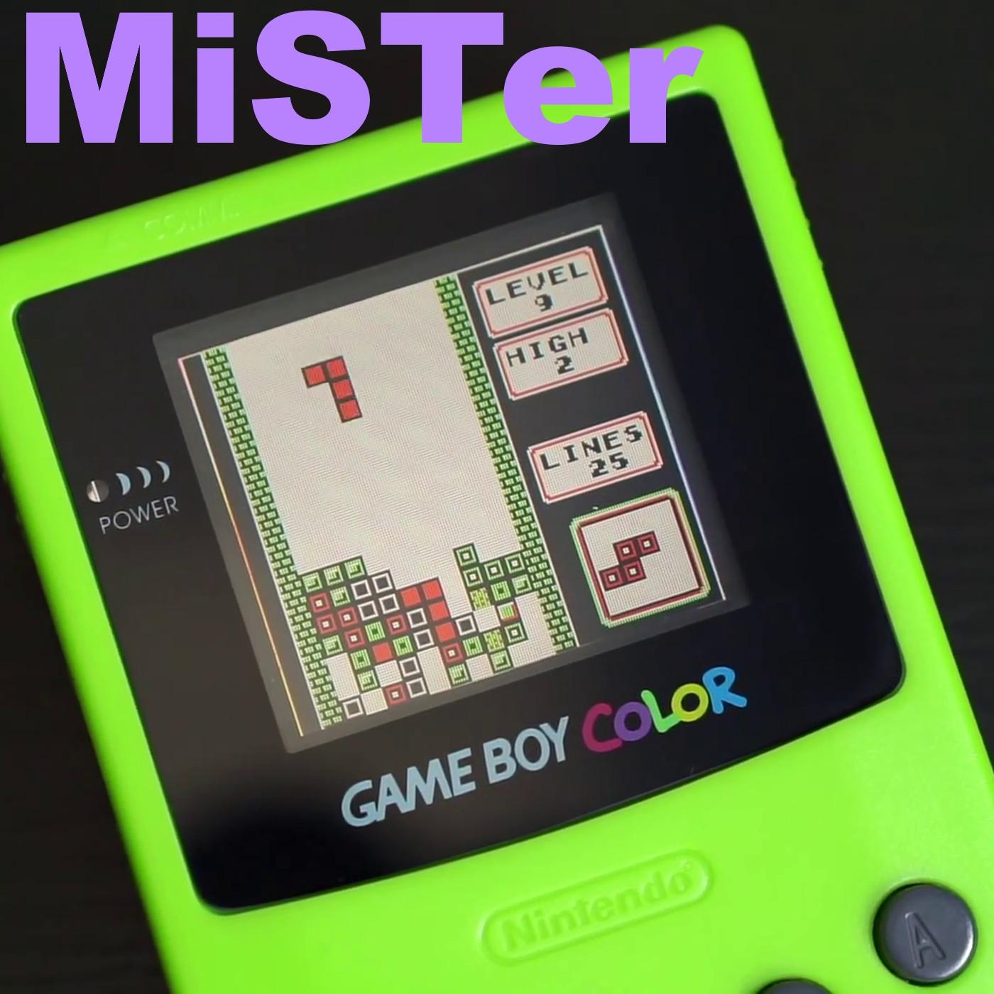 MiSTer gets Game Boy Color Support