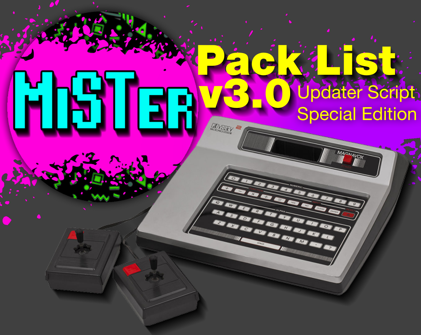 MiSTer Pack List v3.0 Released – Updater Script Special Edition