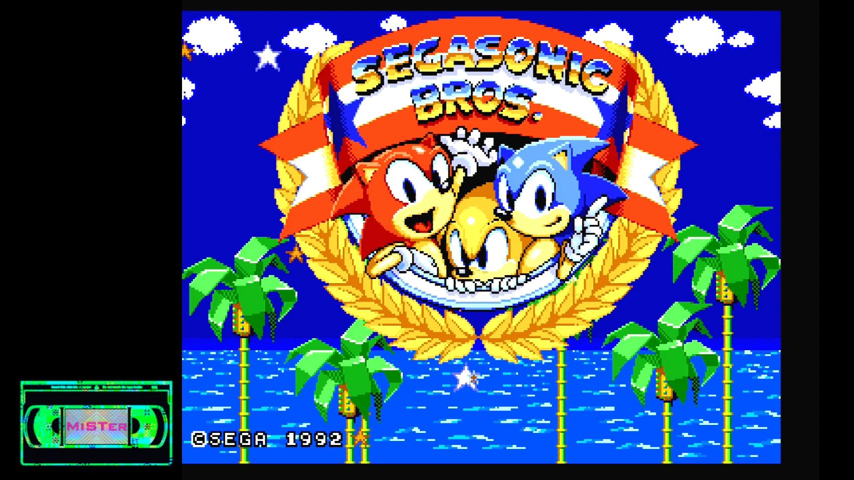 SegaSonic Bros MD Released – Sega Genesis