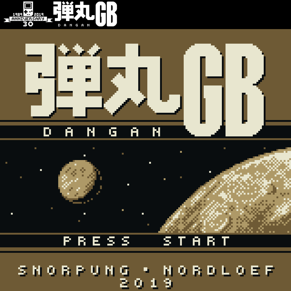 Dangan GB: New Bullet-Hell Shoot 'em Up for Game Boy