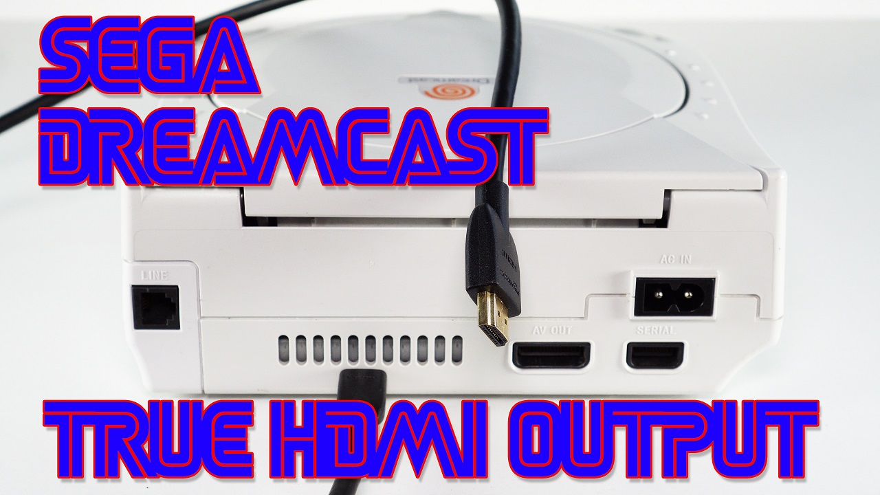 Dreamcast HDMI / DC on flat-screen's