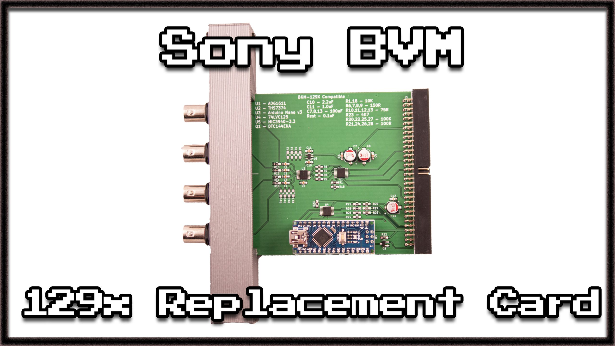 Testing The BKM-129x Replacement Board