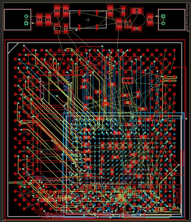 Xbox 1.4 GHz interposer board by Kekule