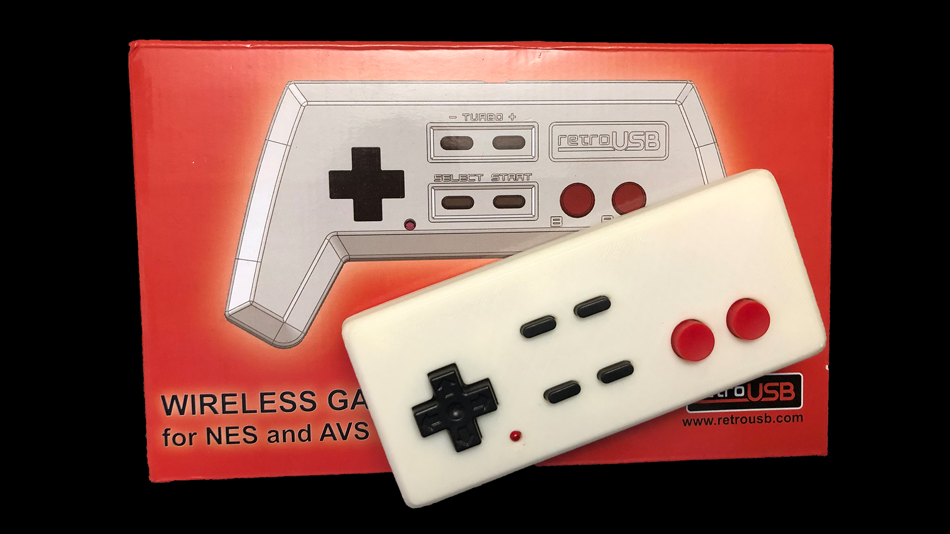 AVS Wireless Controller – 3D Printed NES Case For Sale