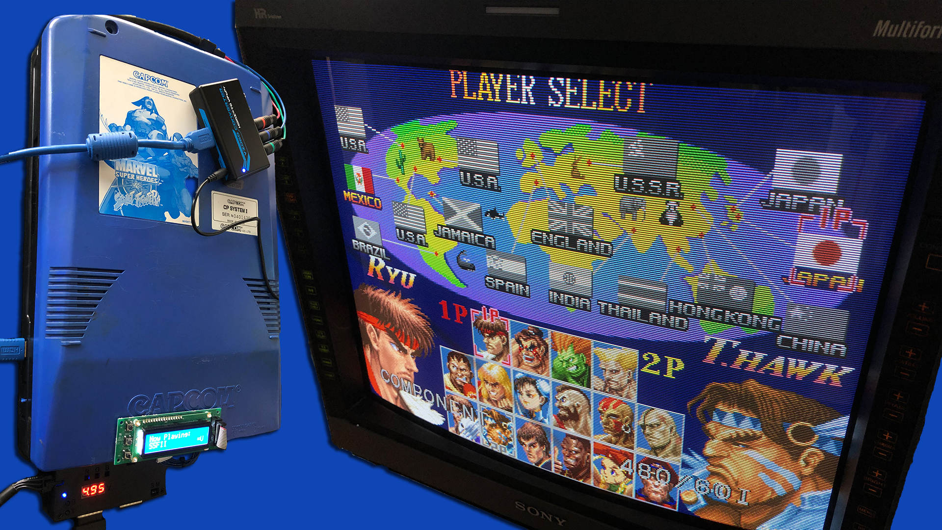 CPS2HDMI Gets Multi-Resolution Firmware Update