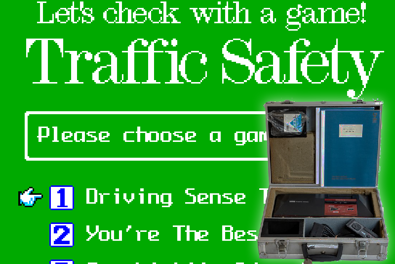 Traffic Safety Game Uncovered for the SMS