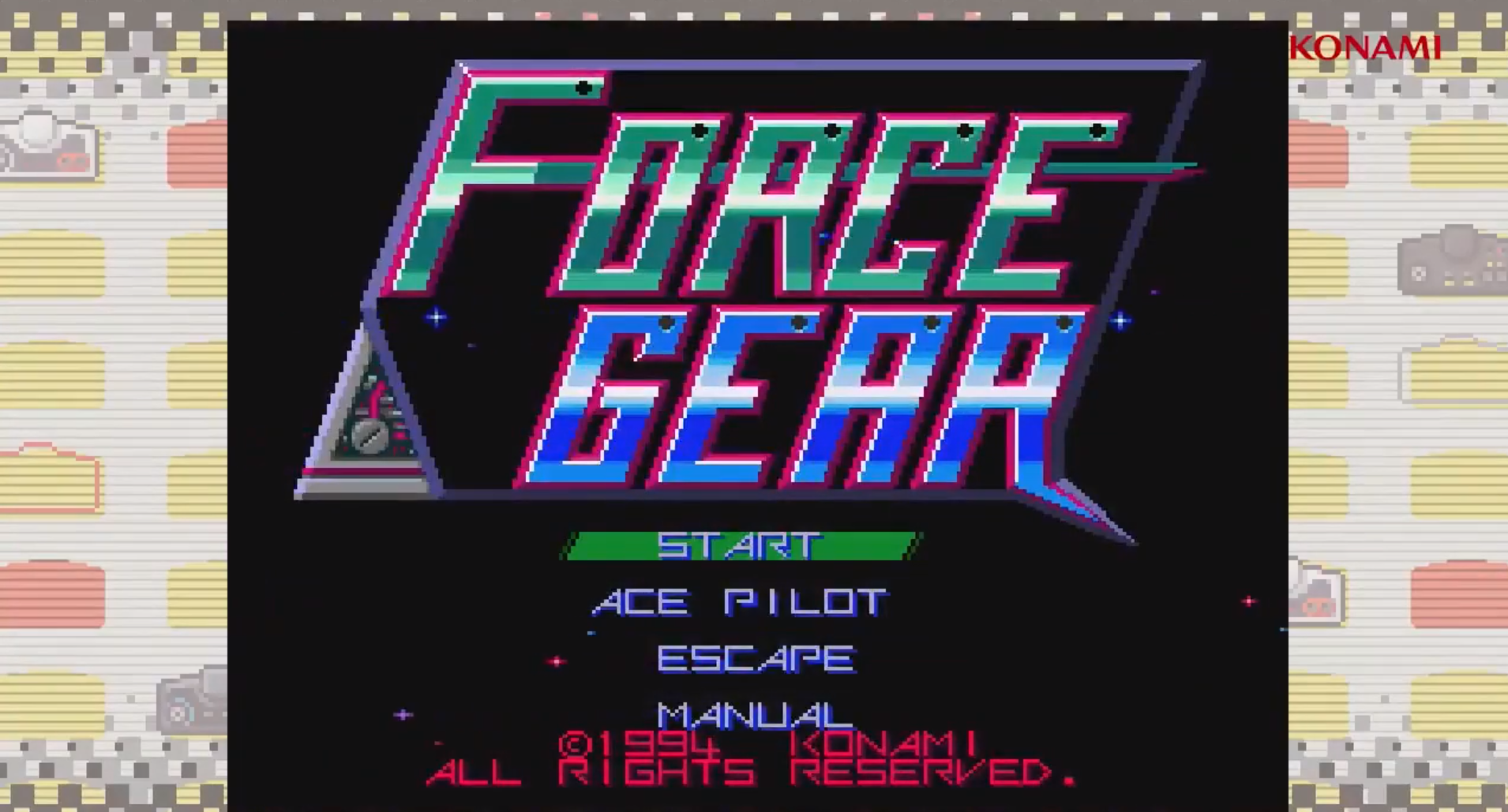 Force Gear & Twinbee Discovered as Hidden Games on the PCE Mini