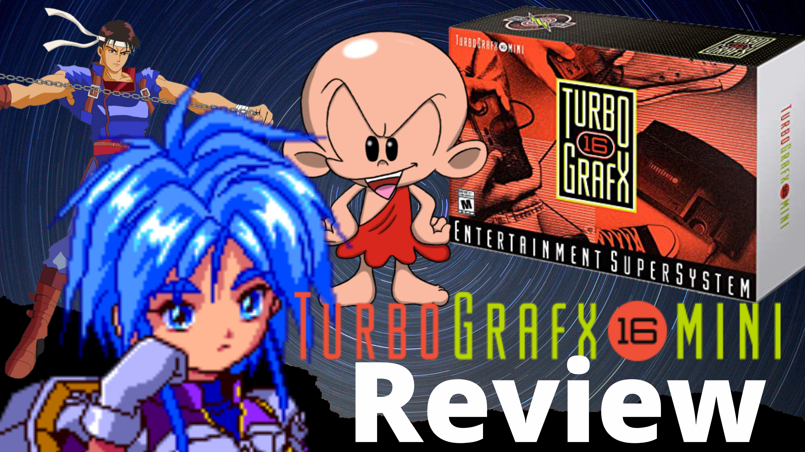 Turbografx 16 Mini Review Video is Now Live on Youtube