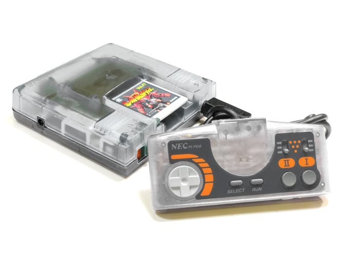 PC Engine transparent case by Retro Game Restore