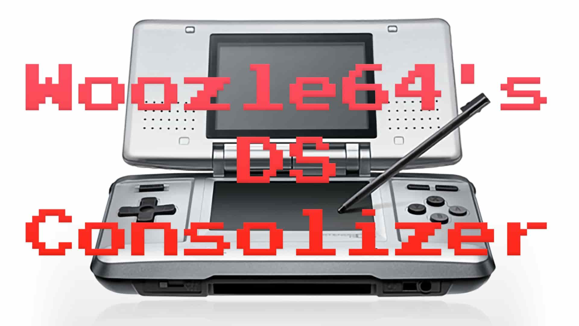 Consolized Nintendo DS teased by Woozle64