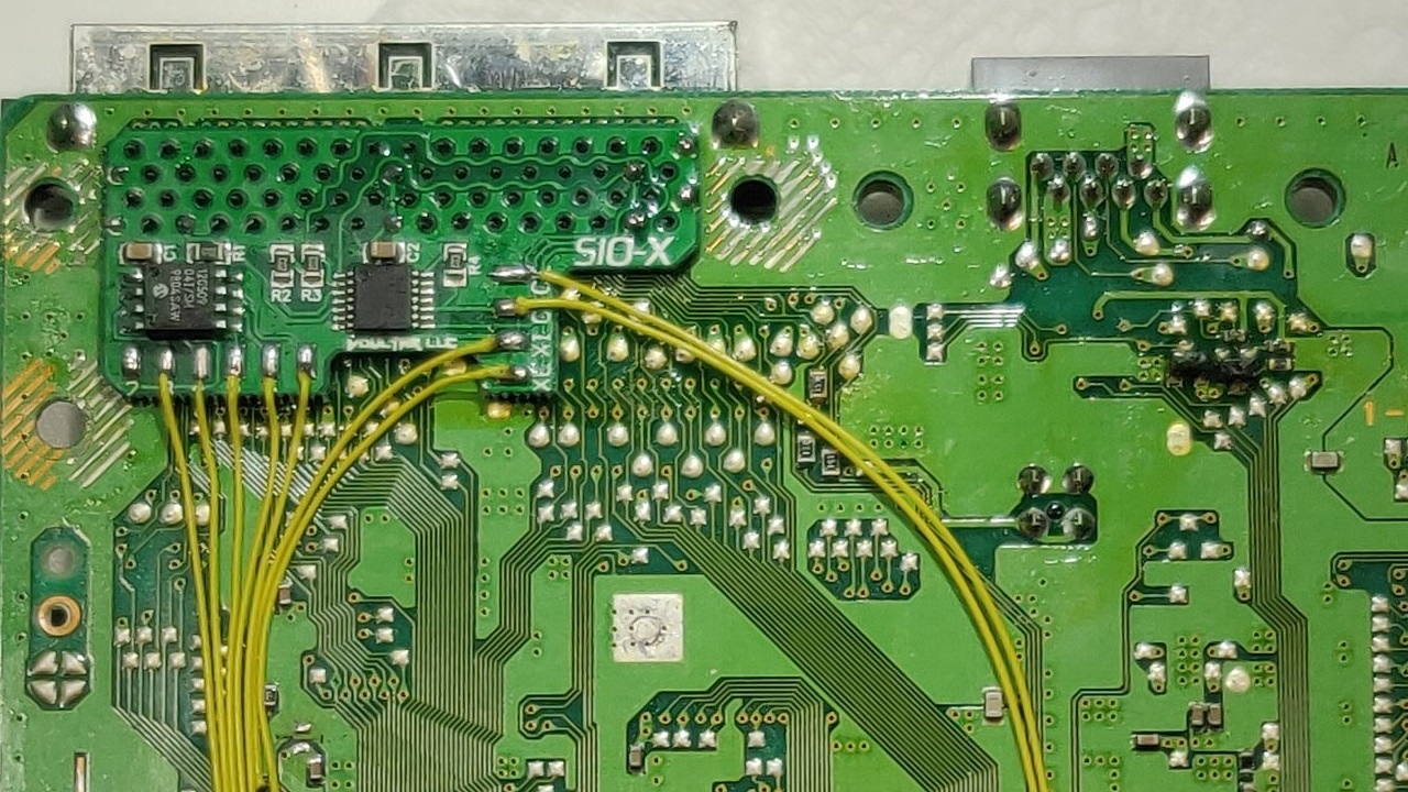 PSIO SIO-X Installation Board
