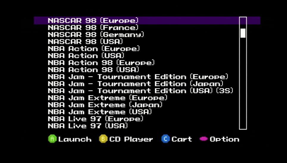 Sega Saturn Fenrir ODE Firmware Updates